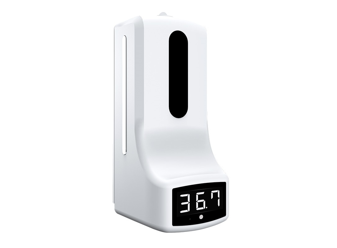 Non-contact Automatic Hand Sanitizer Dispenser with infrared thermometer: